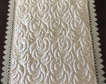 Christening/ Blessing quilt , blanket
