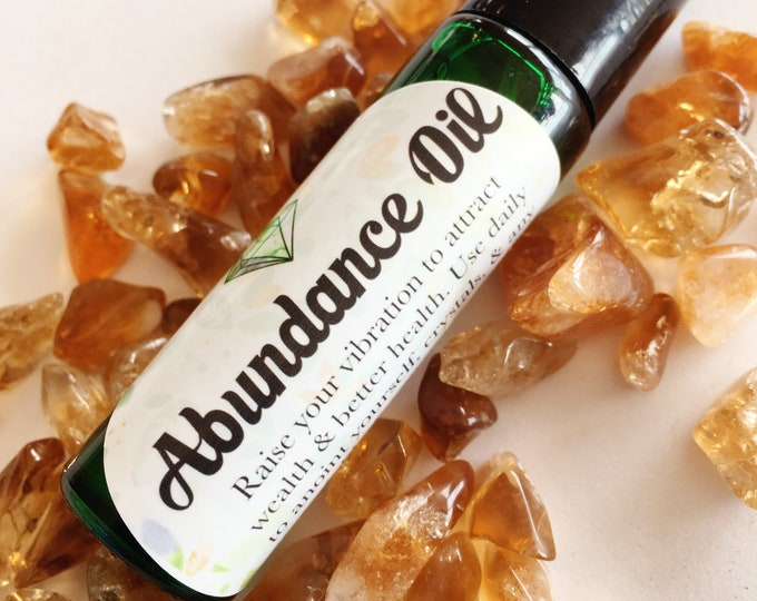 Abundance Oil | good luck, more money, more business | Attract abundance to your life. | Aceite Dinero | Money Oil | Prosperity Oil | 10 ml