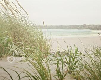 Photographie d'Ocean Beach, Côte de l'Oregon, décor côtier, art, beige, nautique, imprimer, photo de plage de sable