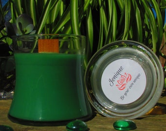 Oceanic 10oz Dual Wooden Wick Soy Blend Candle