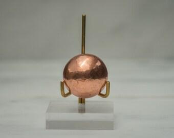 Small Copper Sphere