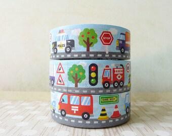 Vehicles Washi Tape