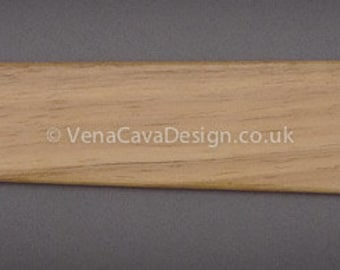 """14"""" Wooden Busk for Historical Stays, Corsets, Bodices. Beautiful Busk."""