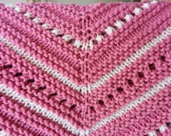 Knit Baby Blanket Pattern - Avery Blanket Pattern - Instant Digital Download PDF