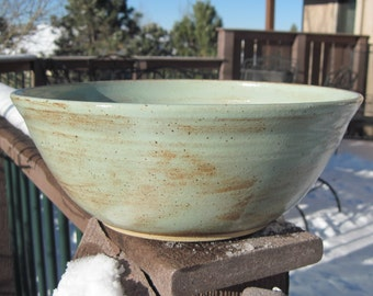 SALE Large Bowl - Handmade pottery