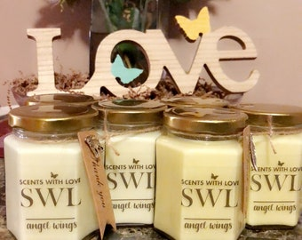 Scents with Love: Angel Wings (3 Candles)