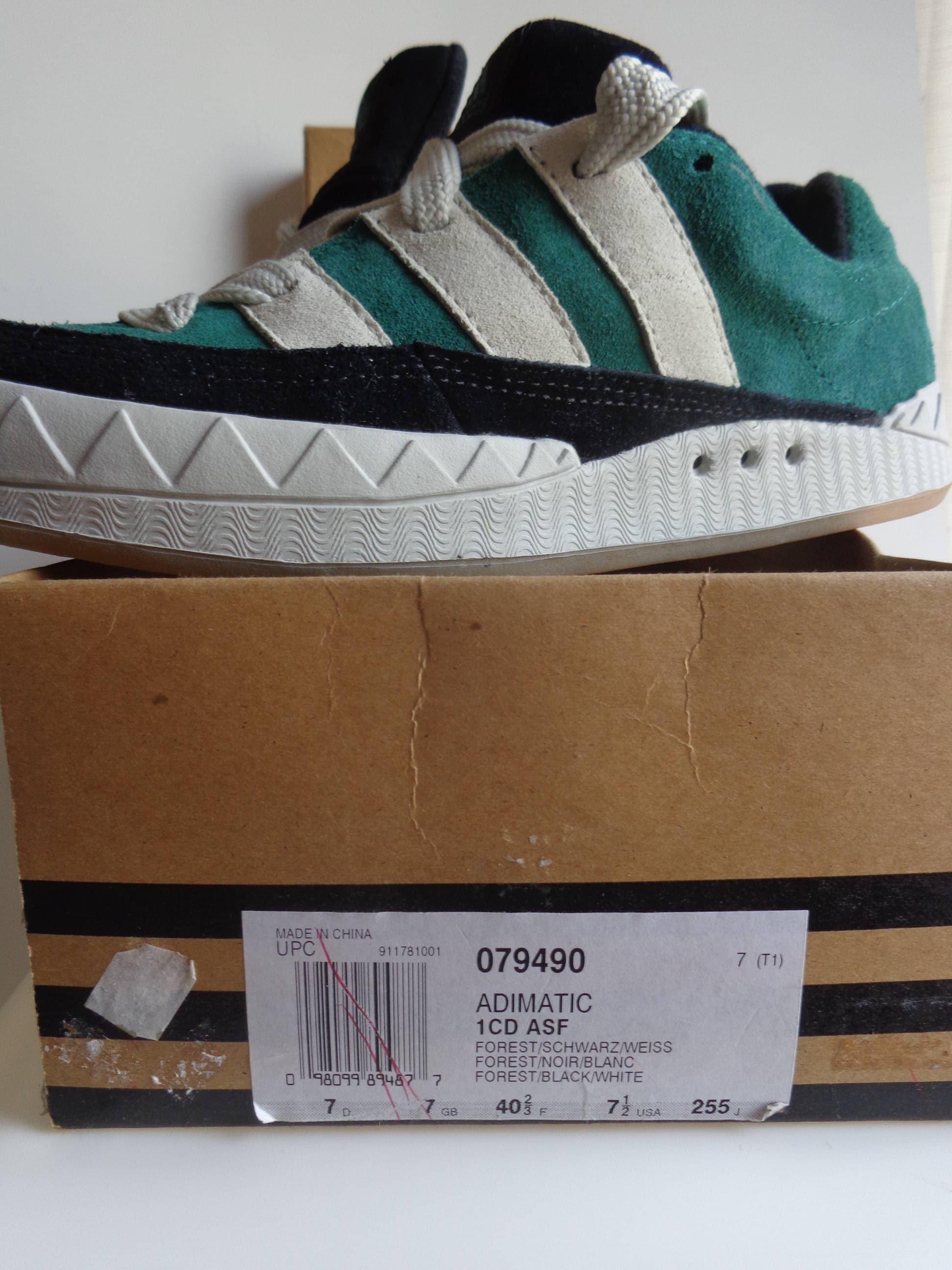 Chaussures 90 Adimatic Vert 079490 S Adidas Vintage xIqZwUI8