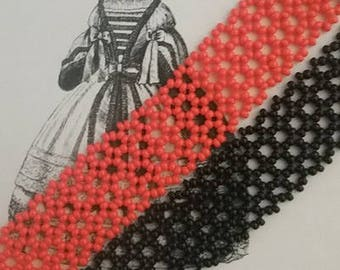 19th Century Beaded Bracelet
