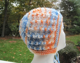 Knit hat, hat, Baby Bonnet, baby hat, hat for baby, bonnet for baby - mixed (H20)