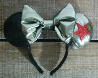Winter Soldier - Marvel Inspired Ears
