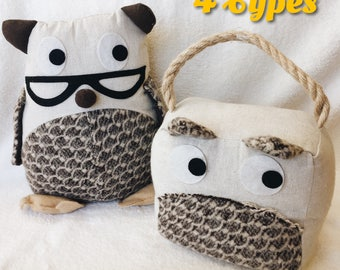 Free Shipping Australia * Adorable Door Stops 4 Types* Animal * Owl * Cat