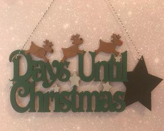 Christmas countdown hanging decoration | Christmas countdown | days until Christmas |