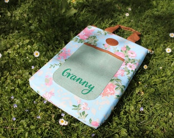 Personalised Kneeling Pad for the Garden