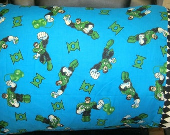 Standard Pillow Case-DC's Green Lantern Pillowcase-Gift