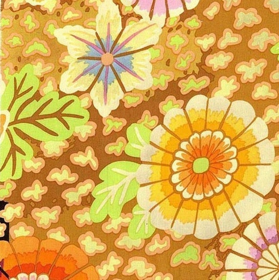 DREAM YELLOW Gold PWGP148 Kaffe Fassett  Sold in 1/2 yd increments