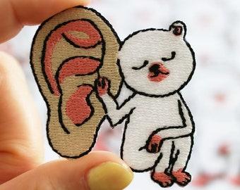 "Patch, Artist Collaboration with Takanori Ishizuka, edition 200, ""ear"""