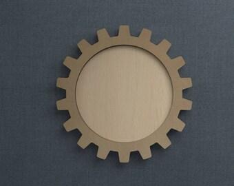 Frame Kit, Gear, Wood Frame, Picture Frame, DIY