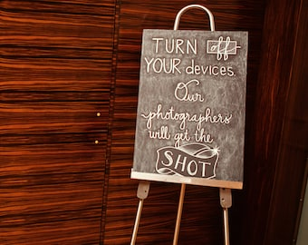 Custom Chalkboard Easel Signs