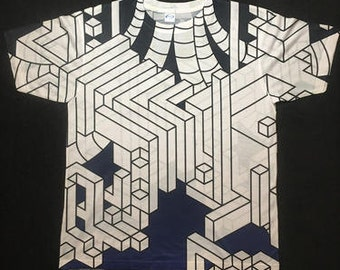 Mens Tee Shirt - Interdimensional (Blue)