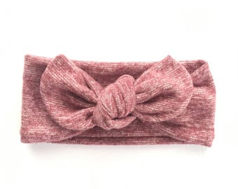 Pink Baby Bow | Baby Headband | Baby Headbands | Baby Bow Top Knots | Baby Head Wraps | Newborn Bows | Baby Shower Gift