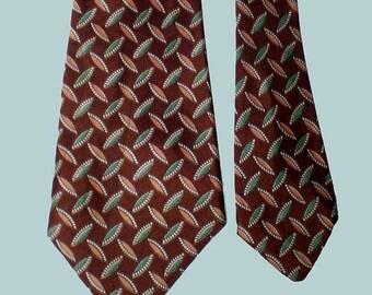 Vintage 50s MCM Modern Rayon Twill Necktie