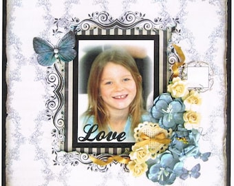 Scrapbooking Kit 3D - Love