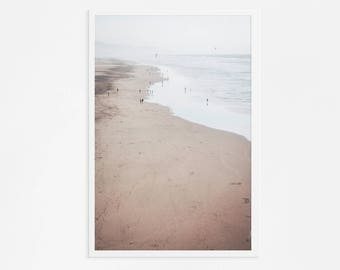 "Ocean Beach San Francisco // Large Beach Photography // Ocean Photography // Living Room Art // Sand Natural Color // ""Ocean Beach SF"""