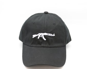 AK47 Dad Hat Embroidered Snapback Baseball Cap