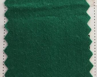 Christmas Emerald Green Quilter's Homespun 100% Cotton Fabric 1/2m lengths