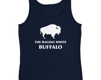 The Raging white buffalo Ladies' Tank Top
