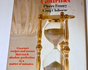 Vintage Cook Book 60 Minute Gourmet Craig Claiborne