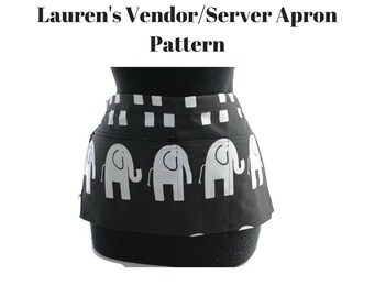 PDF Pattern Server Vendor Apron Tutorial