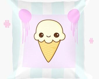 cute kawaii ice cream pillowcase kawaii gifts
