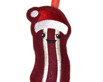 Happy Bacon Ornament