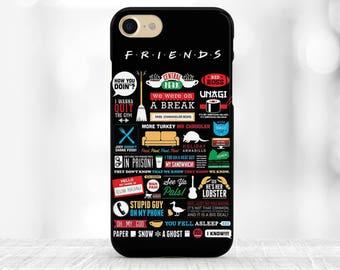 Friends TV Show Phone Case iPhone 8 Case Friends iPhone 7 Case Samsung s9 Plus iPhone 7 plus Case for Samsung s9 Case Friends quote iPhone