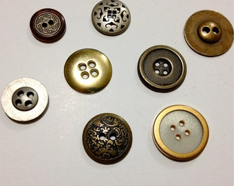 Metal Button Magnets