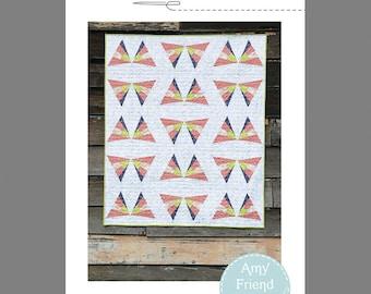 Flitter Quilt Pattern --Paper