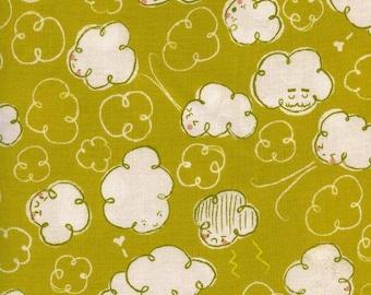 Zephyr Gale in Citron, Rashida Coleman Hale, Cotton+Steel, RJR Fabrics, 100% Cotton Fabric, 1922-2