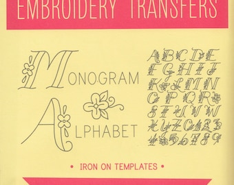 Sublime Stitching Embroidery Patterns   Alphabet Hand Embroidery Pattern   Iron On Transfer Pattern Monograph Embroidery - Monogram Alphabet