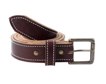 Handmade Leather Belt | Horween Chromexcel | Color 8