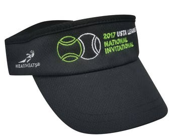 2017 USTA National Invitational Headsweat Visors