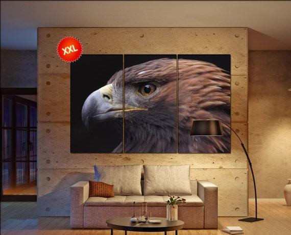 Golden Eagle  canvas wall art Golden Eagle wall decoration Golden Eagle canvas wall art art Golden Eagle large canvas wall art  wall decor