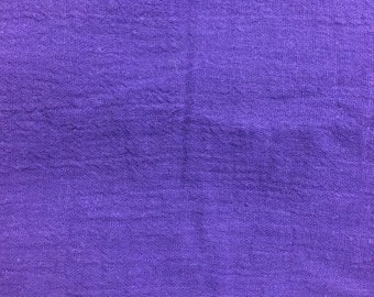 Purple Gauze Fashion Cotton Blend Fabric