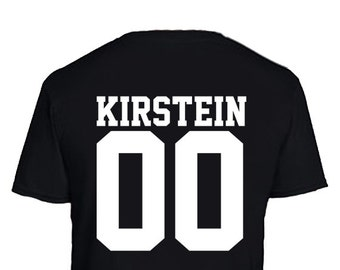 Kirstein Jean Jersey Style 00 Attack on Titan Inspired Anime T-Shirt