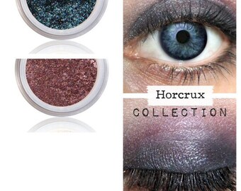 Harry Potter, Horcrux, Eyeshadow Kit, Storybook, Magical Make Up, Harry Potter Gift, Gift For Her, Fan, Wizardry, Witchcraft, Muggles