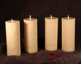 Candle set FOUR SEASONS