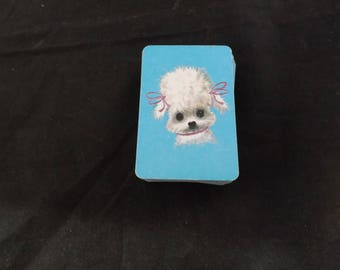 Miniature Poodle Dog Deck of Cards