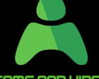 Custom two logo (pew pew)