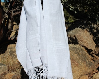 100% Cotton Mexican Scarf Rebozo-All Natural Fiber-Baby Carier-Sifling for Childbirth-Labor-Doula-Mexican-Wrap-Baby-Wedding-Fiesta Outfit