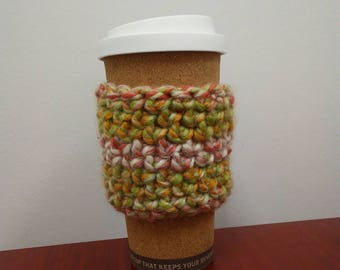 Multi Colored Reusable Cup Sleeve